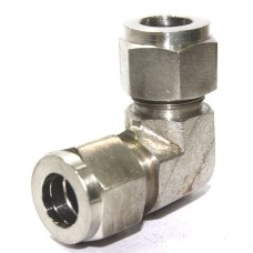 SS Elbow Union Equal Connector Compression Double Ferrule OD Fitting Stainless Steel 316